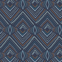 Wavelength from Little Forester by Art Gallery Fabrics sold by Online Canadian Fabric Store Woven Modern Fabric Gallery