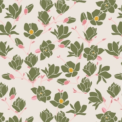 Magnolia from Fusion Printemps, Art Gallery Fabrics sold by Online Canadian Fabric Store Woven Modern Fabric Gallery