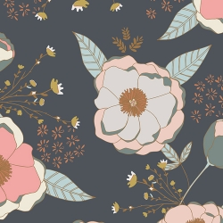 Sparkler Fusion Sprinkled Peony by Art Gallery Fabrics sold by Online Canadian Fabric Store Woven Modern Fabric Gallery