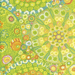 Millefiore Green by Kaffe Fassett sold by Online Canadian Fabric Store Woven Modern Fabric Gallery