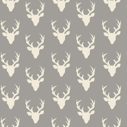 Tiny Buck Forest Mist  Art Gallery Fabrics sold by Online Canadian Fabric Store Woven Modern Fabric Gallery