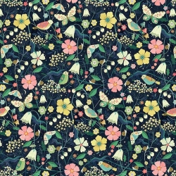 Night Meadow from Dashwood Studios sold by Online Canadian Fabric Store Woven Modern Fabric Gallery