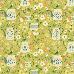 Watering Cans from Dashwood Studios sold by Online Canadian Fabric Store Woven Modern Fabric Gallery