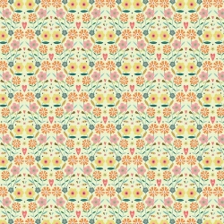 Floral Symmetry from Dashwood Studios sold by Online Canadian Fabric Store Woven Modern Fabric Gallery