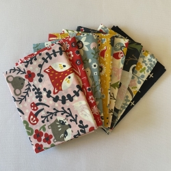 Folkland Fat Quarter Organic Cotton Bundle by Birch Fabrics sold by Online Canadian Fabric Store Woven Modern Fabric Gallery