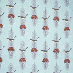 Kirtland Warbler Organic fabric by Charley Harper for Birch Fabrics sold by Online Canadian Fabric Store Woven Modern Fabric Gallery