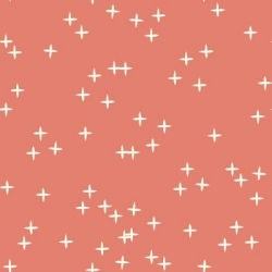 Coral Wink Organic by Birch Fabrics sold by Online Canadian Fabric Store Woven Modern Fabric Gallery