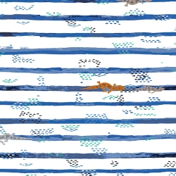 Gecko Trails by Art Gallery Fabrics sold by Online Canadian Fabric Store Woven Modern Fabric Gallery