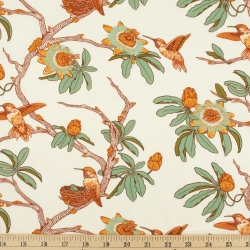 Passion Cream Organic Fabric byMustard Beetle from Birch Fabrics sold by Online Canadian Fabric Store Woven Modern Fabric Gallery