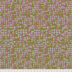 Woven Dots Petal sold by Online Canadian Fabric Store Woven Modern Fabric Gallery