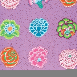 corsage Lavender by Kaffe Fassett sold by Online Canadian Fabric Store Woven Modern Fabric Gallery