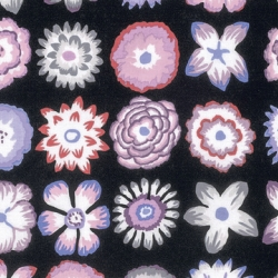 Button Flower Contrast by Kaffe Fassett sold by Online Canadian Fabric Store Woven Modern Fabric Gallery