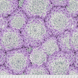 Succulent Grey by Kaffe Fassett sold by Online Canadian Fabric Store Woven Modern Fabric Gallery