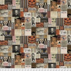 31st Multi by Tim Holtz sold by Online Canadian Fabric Store Woven Modern Fabric Gallery