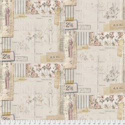 Vogue by Tim Holtz sold by Online Canadian Fabric Store Woven Modern Fabric Gallery
