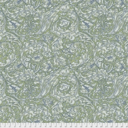 Bachelor Buttons Green by Morris & Co sold by Online Canadian Fabric Store Woven Modern Fabric Gallery