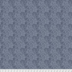 Marigold Navy by Morris & Co sold by Online Canadian Fabric Store Woven Modern Fabric Gallery