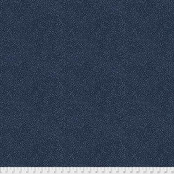 Seaweed Dot Navy  by Morris & Co sold by Online Canadian Fabric Store Woven Modern Fabric Gallery