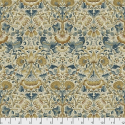 Lodden Teal by Morris & Co sold by Online Canadian Fabric Store Woven Modern Fabric Gallery