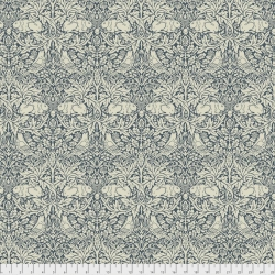 Brer Rabbit  Navy by Morris & Co sold by Online Canadian Fabric Store Woven Modern Fabric Gallery