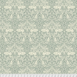 Brer Rabbit Teal by Morris & Co sold by Online Canadian Fabric Store Woven Modern Fabric Gallery