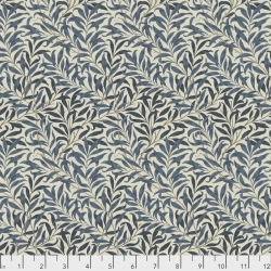 Willow Boughs Navy by Morris & Co sold by Online Canadian Fabric Store Woven Modern Fabric Gallery