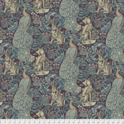Forest Plum by Morris & Co sold by Online Canadian Fabric Store Woven Modern Fabric Gallery