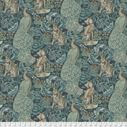 Forest Teal by Morris & Co sold by Online Canadian Fabric Store Woven Modern Fabric Gallery