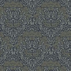Michaelmas Daisy Ink fabric by Morris & Co sold by Online Canadian Fabric Store Woven Modern Fabric Gallery