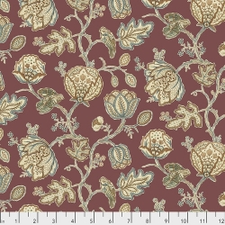 Theodesia Red by Morris & Co sold by Online Canadian Fabric Store Woven Modern Fabric Gallery