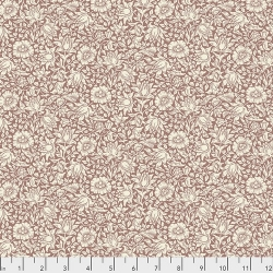Mallow Rose by Morris & Co sold by Online Canadian Fabric Store Woven Modern Fabric Gallery