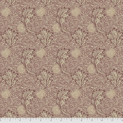 Apple red fabric by Morris & Co sold by Online Canadian Fabric Store Woven Modern Fabric Gallery