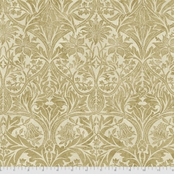 Bluebell gold fabric by Morris & Co sold by Online Canadian Fabric Store Woven Modern Fabric Gallery