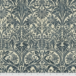 Bluebell indigo fabric by Morris & Co sold by Online Canadian Fabric Store Woven Modern Fabric Gallery