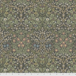 Blackthorn charcoal fabric by Morris & Co sold by Online Canadian Fabric Store Woven Modern Fabric Gallery