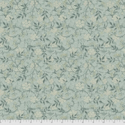 Jasmine aqua fabric by Morris & Co sold by Online Canadian Fabric Store Woven Modern Fabric Gallery