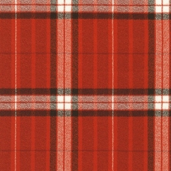Organic Mammoth Flannel Red from Robert Kaufmn sold by Online Canadian Fabric Store Woven Modern Fabric Gallery