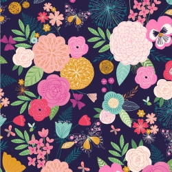 Summer Floral from Dashwood Studios sold by Online Canadian Fabric Store Woven Modern Fabric Gallery