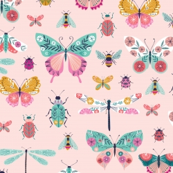 Butterfly Dance from Dashwood Studios sold by Online Canadian Fabric Store Woven Modern Fabric Gallery