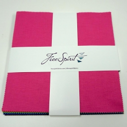 """Tula Pink solids 10"""" Charm Pack  sold by Online Canadian Fabric Store Woven Modern Fabric Gallery"""