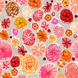 Boppy Floral by August Wren for Dear Stella  Fabrics sold by Online Canadian Fabric Store Woven Modern Fabric Gallery