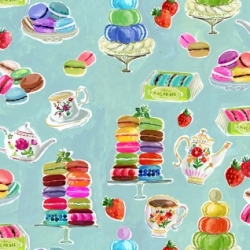 Macaroons  by august wren for Dear Stella Fabrics for sale at canadian online fabric shop Woven Modern Fabric Gallery