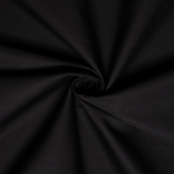 Jet Black organic solid from Birch Fabrics sold by Online Canadian Fabric Store Woven Modern Fabric Gallery