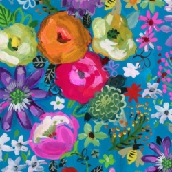 Midsummer Dream fabric from August Wren for Dear Stella Fabrics sold by Online Canadian Fabric Store Woven Modern Fabric Gallery