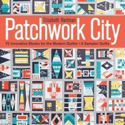 Patchwork City: 75 Innovative Blocks For The Modern Quilter - 6 Sampler Quilts sold by Online Canadian Fabric Store Woven Modern Fabric Gallery