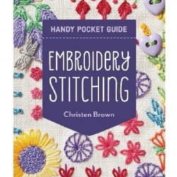 Embroidery Stitching Handy Pocket Guide  by Christen Brown sold by Online Canadian Fabric Store Woven Modern Fabric Gallery