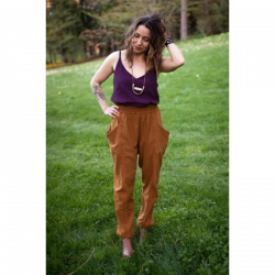 Arenite Pants Pattern by Sew Liberated sold by Online Canadian Fabric Store Woven Modern Fabric Gallery