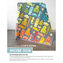 Awesome Ocean Quilt Pattern by Elizabeth Hartman sold by Online Canadian Fabric Store Woven Modern Fabric Gallery