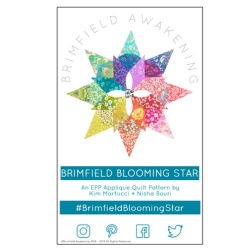 Brimfield Blooming Star Pattern by Brimfield Awakening sold by Online Canadian Fabric Store Woven Modern Fabric Gallery