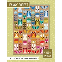 Fancy Forest Quilt Pattern by Elizabeth Hartman sold by Online Canadian Fabric Store Woven Modern Fabric Gallery